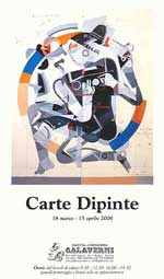 CARTE DIPINTE 2006 - Collettiva